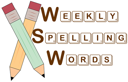 Image result for SPELLINGS THIS WEEK CLIPART